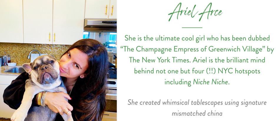 Set The Table With... Manhattan Restaurateur Ariel Arce