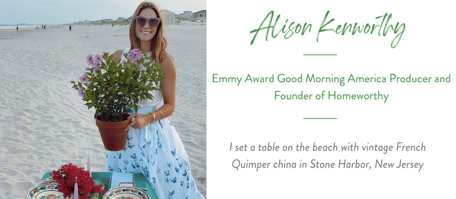 Set The Table With...Homeworthy Founder, Alison Kenworthy