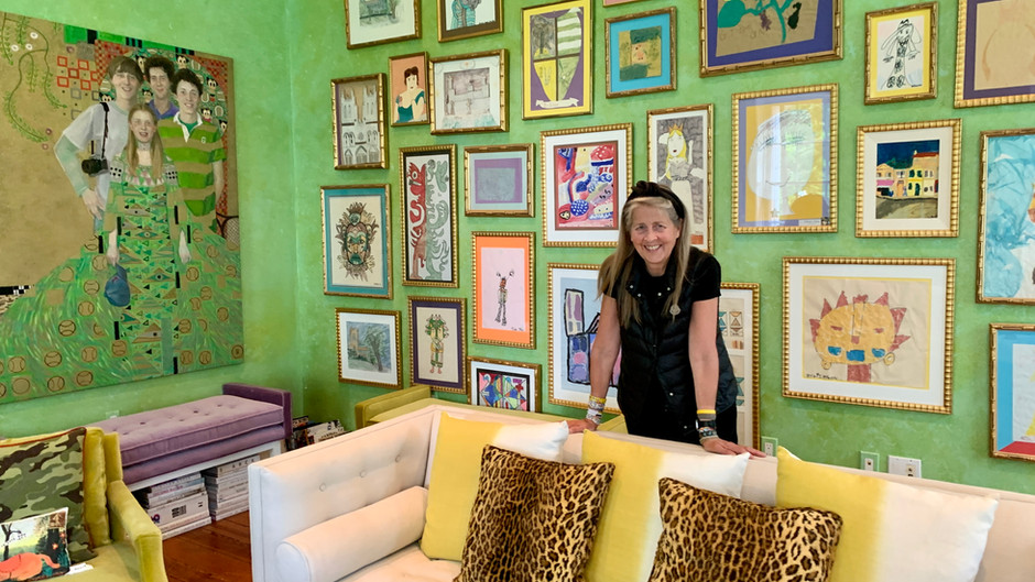 SCOUT Co-Founder Has Most Colorful And Eclectic Home You've Ever Seen