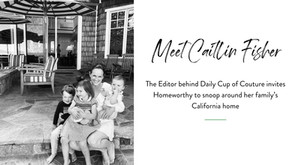 Snooping Around...in Caitlin Fisher's California Home