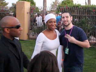 Backstage with India Arie