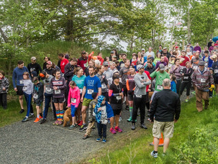 Race results from first Rail Trail 5K