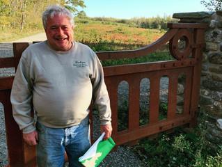 Tom Jackson receives 2020 Volunteer Award from Coastal Mountains Land Trust