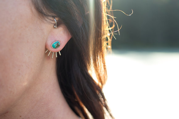 Liza Turquoise Studs