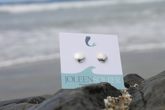 $29.00 - Recycled Day Bay Cockle Studs