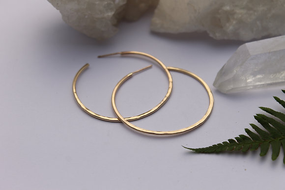 Vida Hoops - Gold Filled