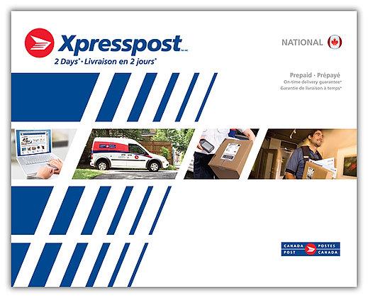 Xpresspost Prepaid Envelopes - National