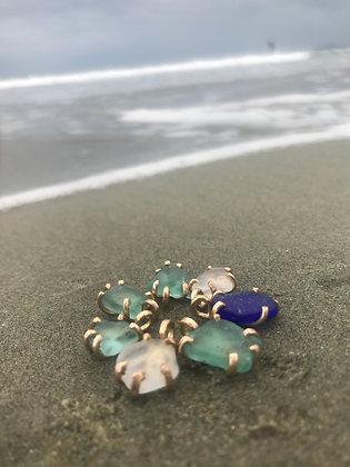 $39.00 - Barkley Sea Glass Pendant - 14k Gold Fill