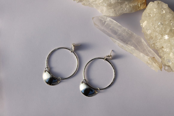 Lunar Reflection Hoops