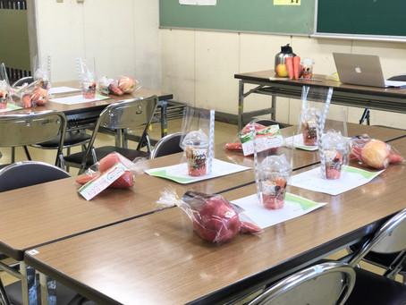 「野菜の使い方講座」を開催致しました。