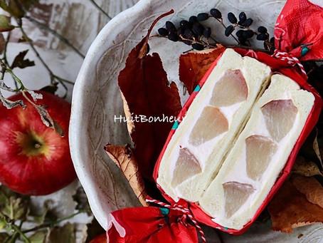 『りんごのフルーツサンド』新発売いたしました!