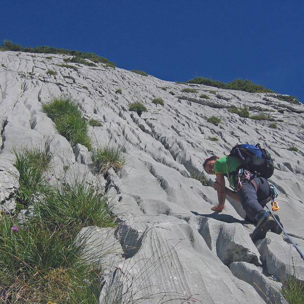 Klettern am Mattstock