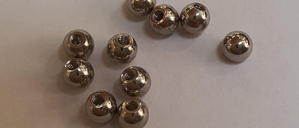 10 Palline acciaio 1.2 x pallina da 3mm
