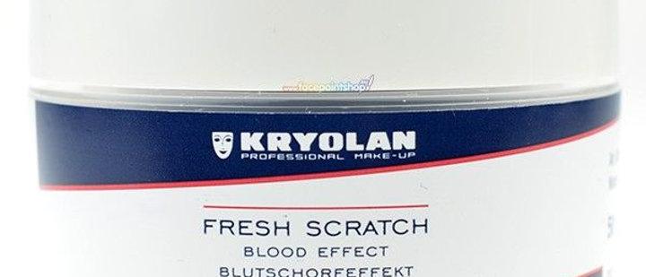Flash scratch, blood effect