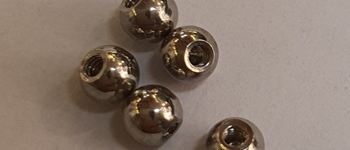 5 Palline acciaio 1.2 x pallina da 3mm