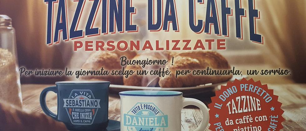 Tazzine da caffè con Frasi