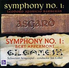 """Symphony No. 1 """"Gilgamesh"""" & Barberan: Symphony No. 1 """"Asgard"""""""