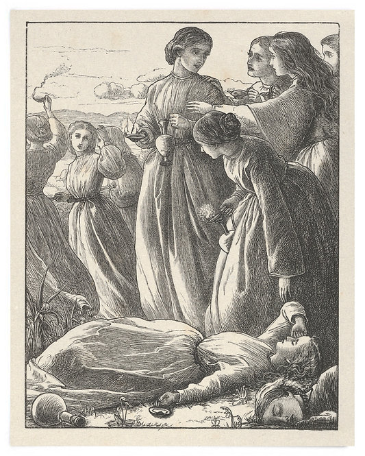 16x20 Print: The Parable of the Virgins (The Parables of Our Lord..) - Millais