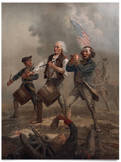 """The Spirit of 76"" - Archibald Willard, 18x24"" Poster"