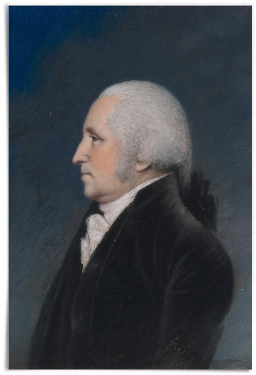 George Washington, 1796 (Artist: James Sharples) - 24x36 inch print