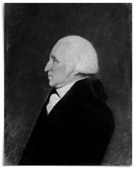 "POSTER: George Washington, 1796 (Artist: James Sharples Jr.) - 16""x20"""