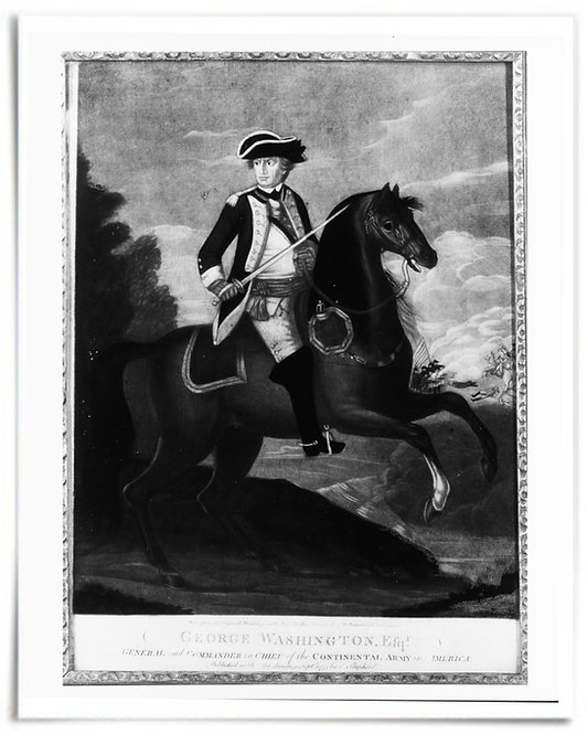 "George Washington, Efqr, 1775 (Artist: after Alex Campbell) - 16""x20"""