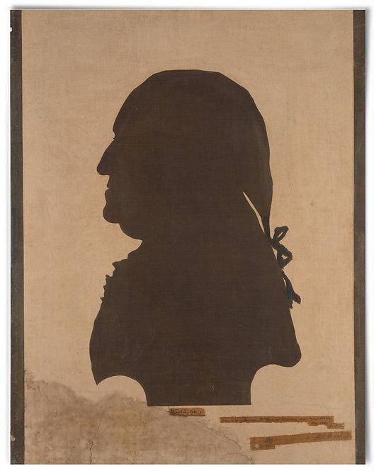 "Portrait of George Washington, 1798 (Artist: Eleanor Custis) - 22""x28"""