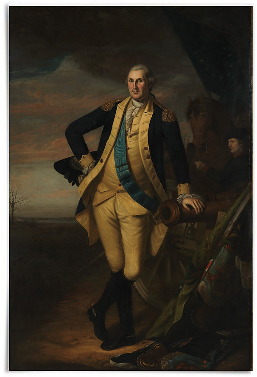 "Poster: George Washington, ca. 1779–81 (Artist:Charles Willson Peale) - 24""x36"""