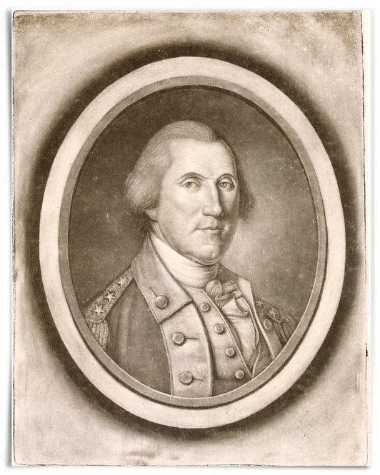 "George Washington,1787 (Artist: Charles Willson Peale) - 16""x20"""