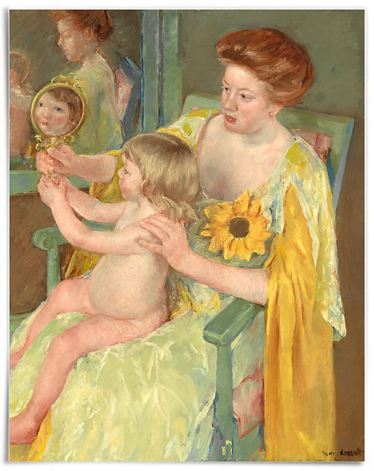 Poster: Mother and Child, c. 1905, Mary Cassatt - 22x28 inch, print