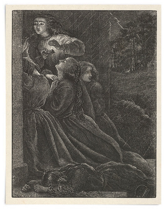 16x20 Print: The Foolish Virgins (The Parables of Our Lord..) -John Millais 1864