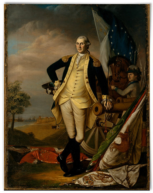 "George Washington, 1782 (Artist: James Peale) - 22""x28"""