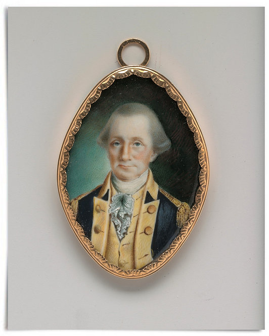 "George Washington, 1789 (Artist: John Ramage) - 16""x20"""