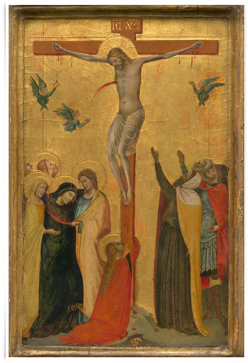 The Crucifixion, c. 1320-25 by Bernardo Daddi - 24x36 Inch Poster