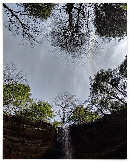 Ash Cave, Hocking Hills State Park near Logan, Ohio - 16x20