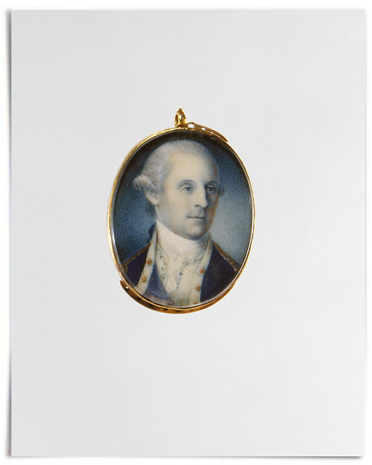 "George Washington,1777 (Artist: Charles Willson Peale) - 16""x20"""