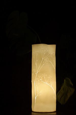 37. Cow parsley lamp