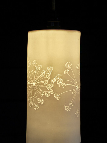 8. Cow parsley pendant light