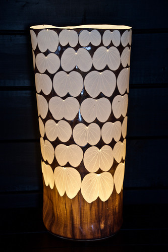 33. Glazed Judas tree lamp