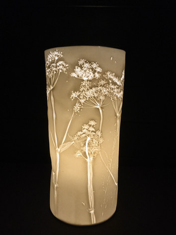 63. Poison Hemlock lamp