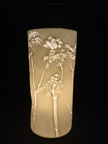63. Poison Hemlock lamp