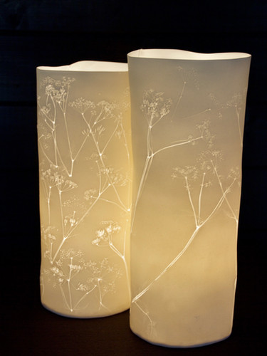 52. Cow parsley lamp