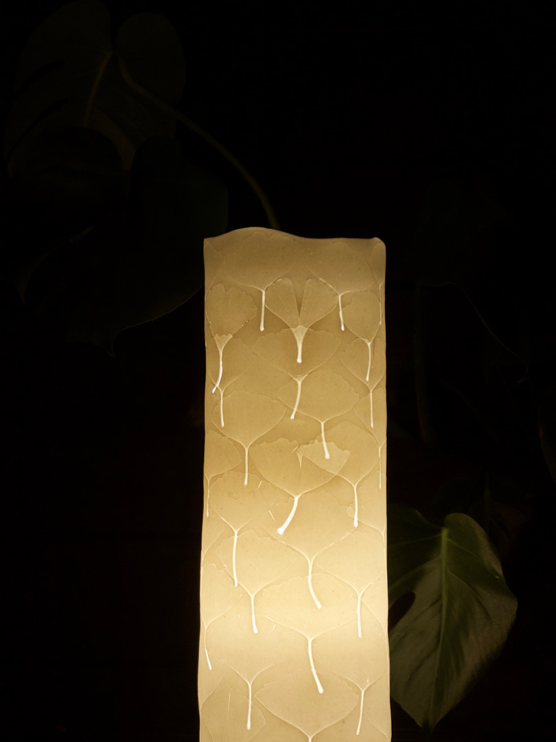 11. Maidenhair lamp