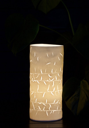27. Willow Catkins lamp