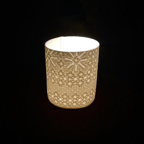 Lace T light holder