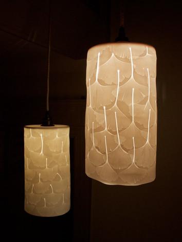 15. Gingko pendant lights