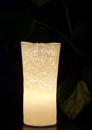 31. Elderflower lamp