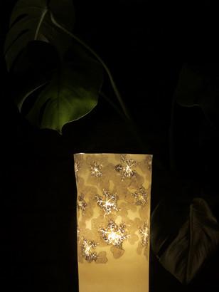 14. Lustre Viburnum 18cm W x 36.9cm H .j