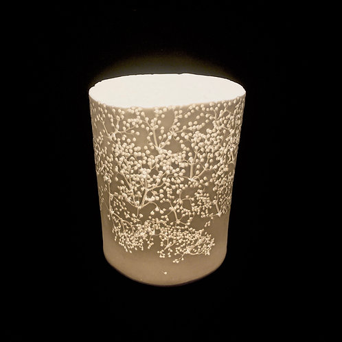 2. Elderflower T light holder