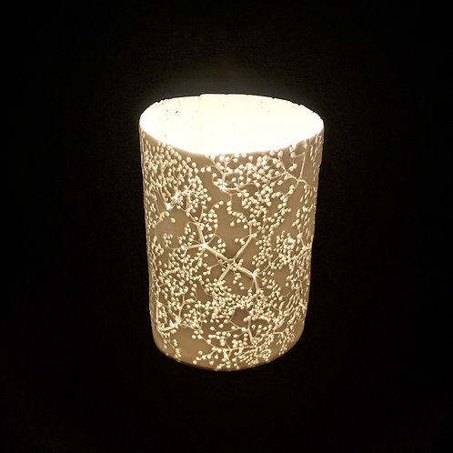 9. Elderflower T light holder